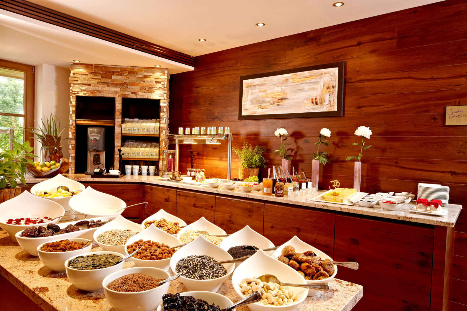 anapurna-buffet-healthy-cuisine-ayurveda-resort-sonnhof-austria