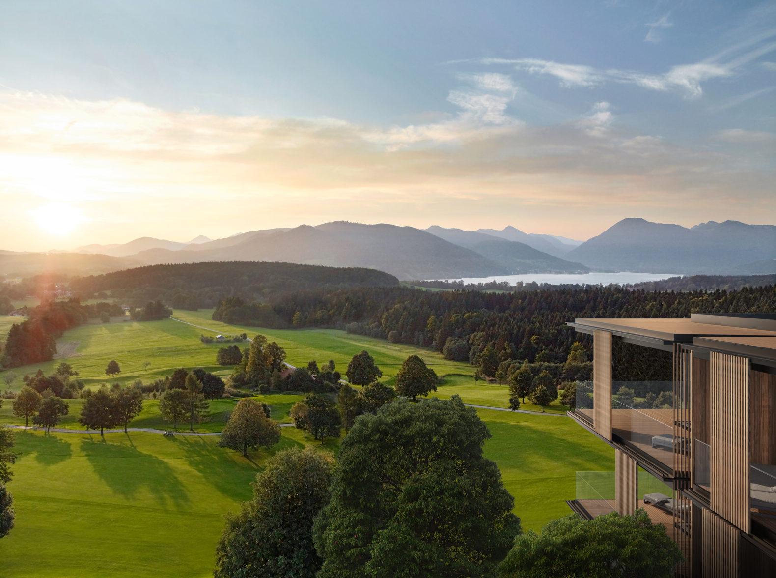 panoramic-view-green-fields-lake-mountain-hills-lanserhof-tegernsee-germany