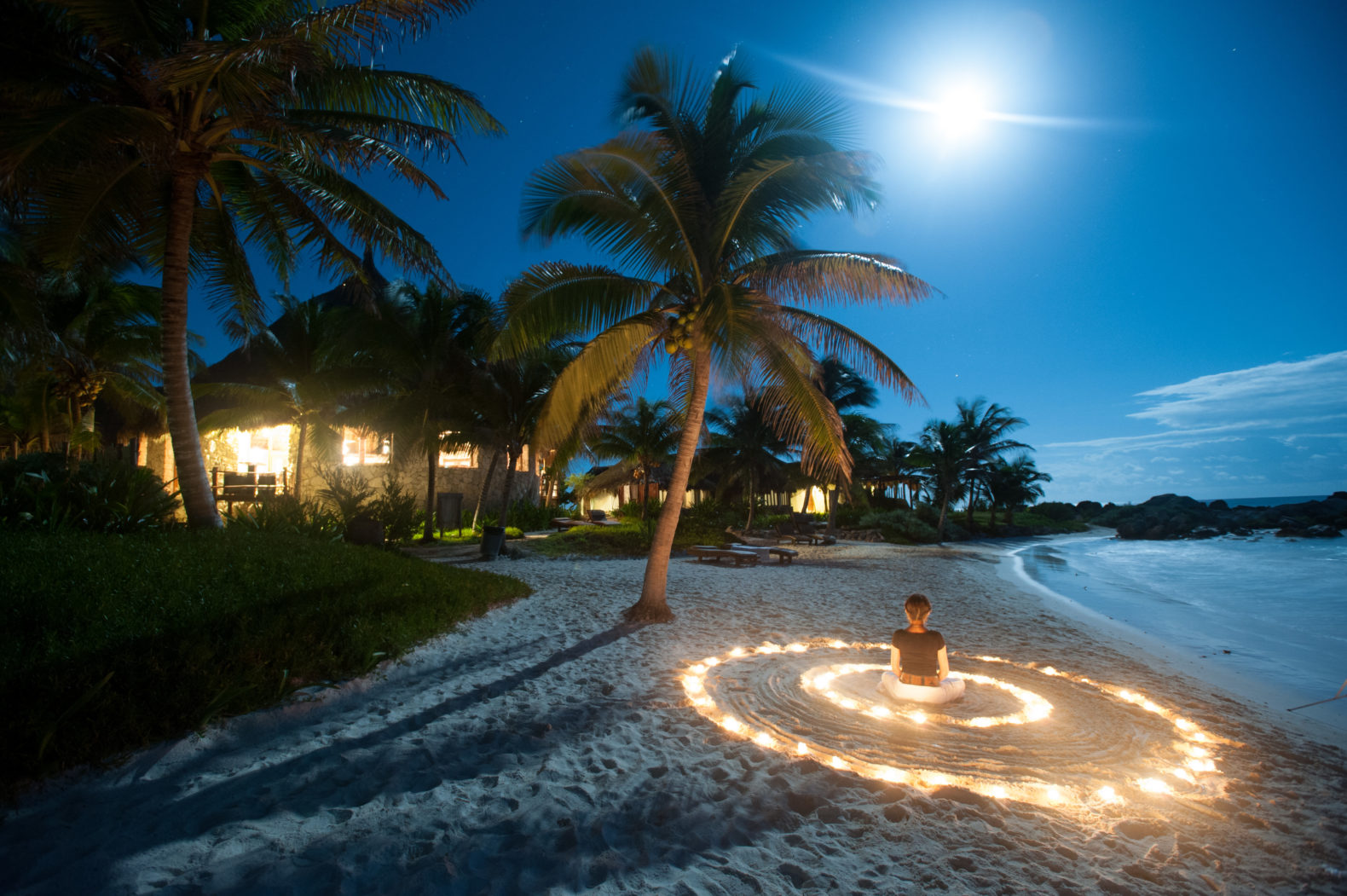 beach-meditation-palmtrees-white-sand-moonshine-maya-tulum-mexico