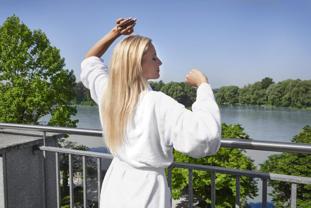 Kurhaus_Schaerding_Balkon und Ausblick