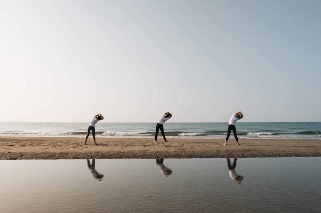 Almar Jesolo Yoga at the beach