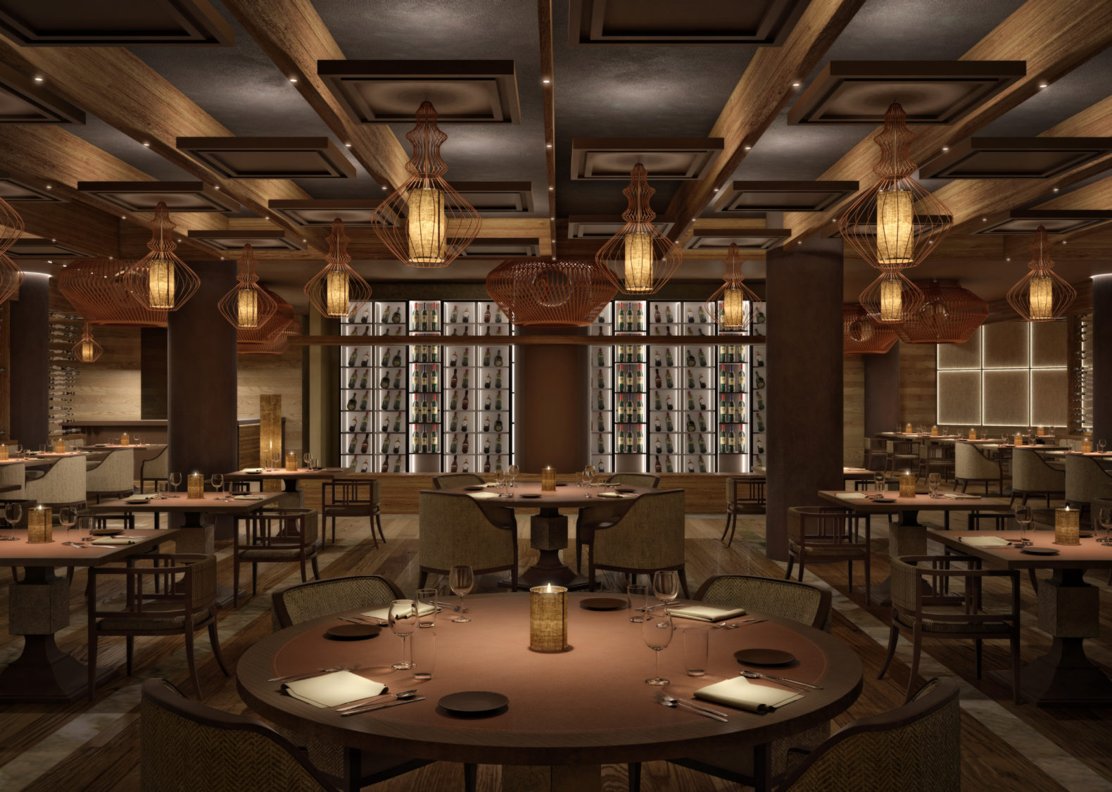 main-restaurant-healthy-cuisine-cozy-atmosphere-lefay-resorts-dolomiti-italy