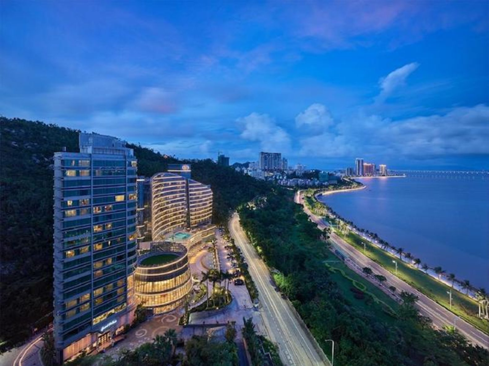 Grand Bay Zhuhai view