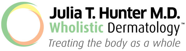Wholistic Dermatology Julia Hunter Logo