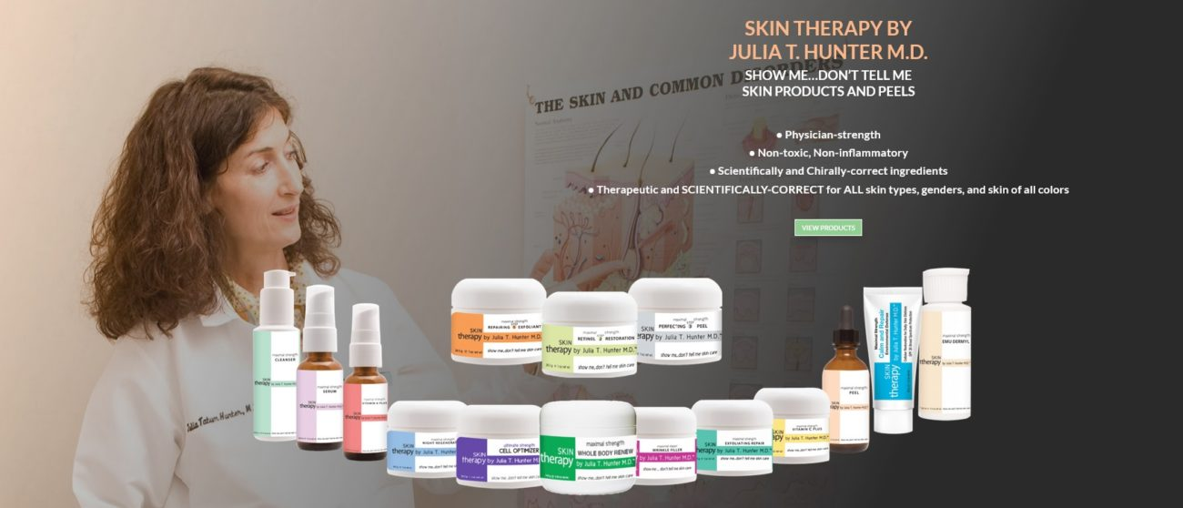 Wholistic Dermatology Dr. Hunter & Products