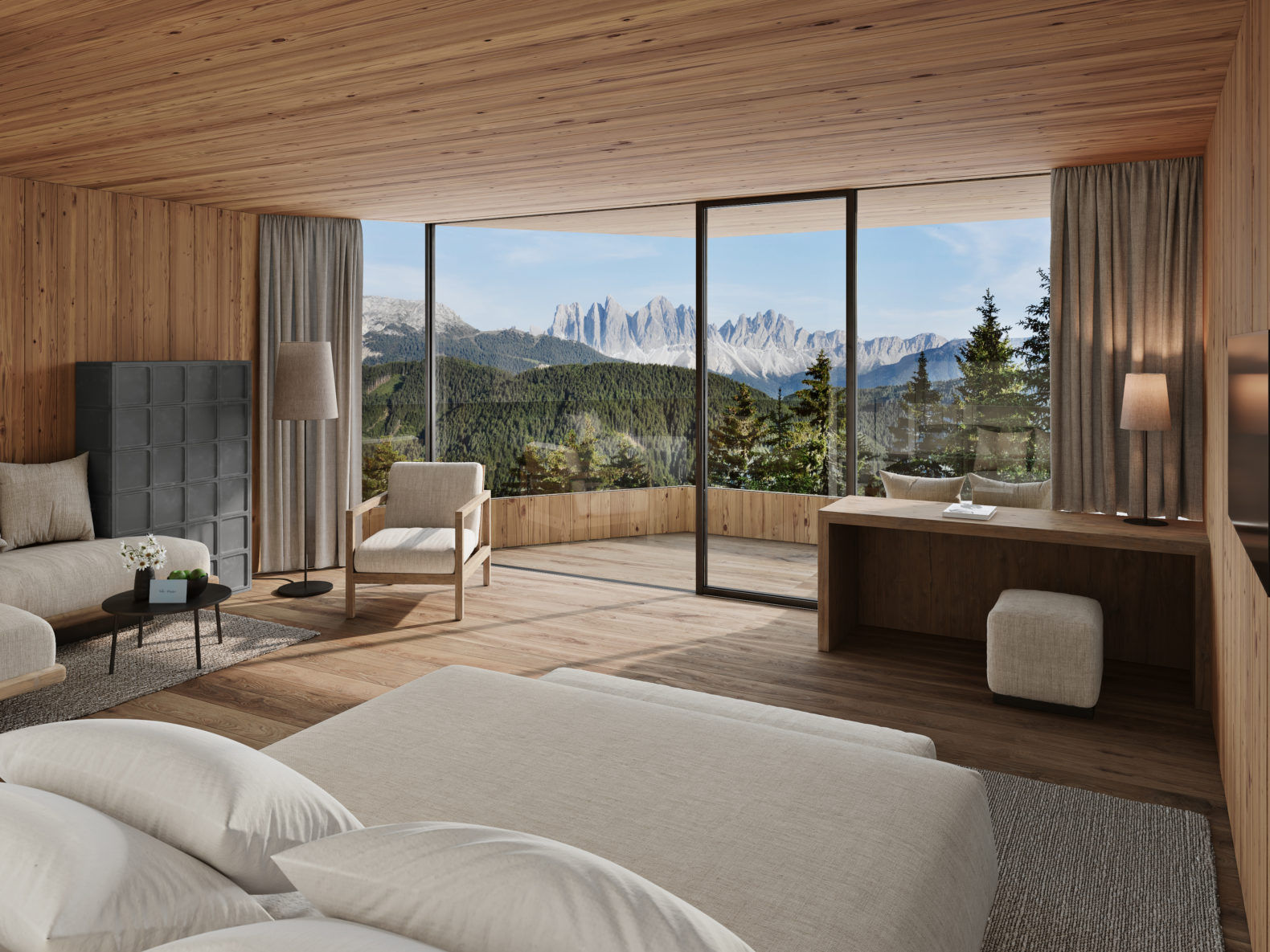 forestis-spacious-suiten-tower-suite-panoramic-view-mountains-nature-healing-hotels-of-the-world-southtyrol-italy