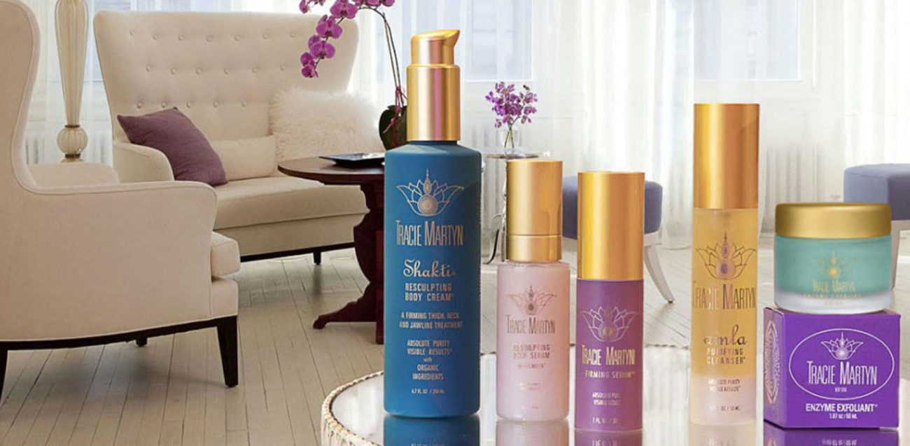 products skincare spa brand Tracie martyn ny